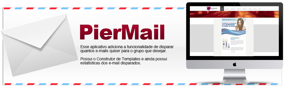 PierMail - Disparo de e-mail marketing